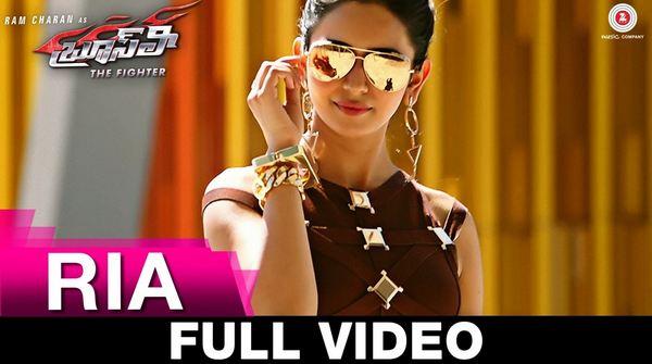 Bruce Lee - The Fighter Telugu Movie Ria - Full Video Song 1080P Ram Charan & Rakul Preet Singh