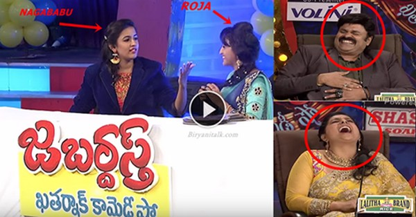 Niharika Konidala Imitating Her Father NagaBabu In Jabardasth Show, it's Hilarious Sure You Can't Control Your Laugh