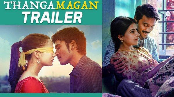 Thangamagan Official Trailer Dhanush Amy Jackson Samantha Ruth Prabhu Anirudh Ravichander