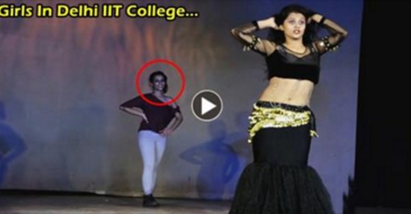 These Girls Gives Shock IIT College. Especially That Black Dress GIRLS Mind Blowing Performence