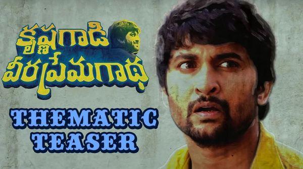 Actor Nani's Krishnagaadi Veera Prema Gaadha Teaser Hanu Raghavapudi 14 Reels