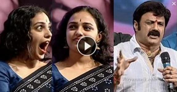 Balakrishna Sensational comments on Actress Nithya Menon
