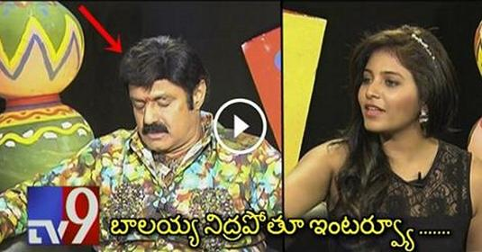 Balayya EPIC Interview In TV9 With Anjali About Dictator Movie. Hilarious Watch Till The END