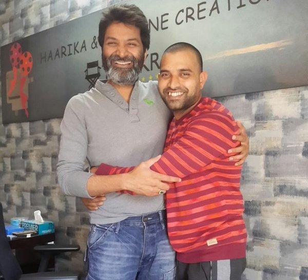 Director Trivikram Srinivas Surprise gift to Choreographer Jani Master