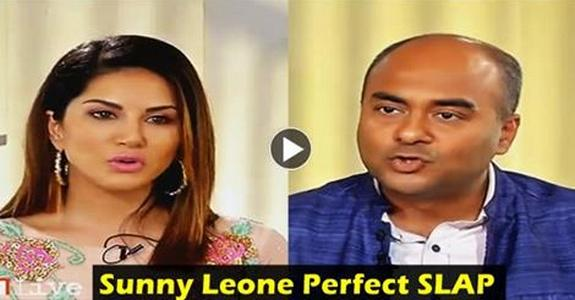 Sunny Leone Slaps IBN Live Anchor With Her Perfect REPLY. Most Ridiculous Interview I've Ever Seen in my Life
