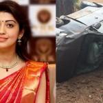Actress Pranitha Subhash Road Accident HD Photos