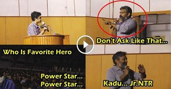 Baahubali Director SS Rajamouli Hilarious Answers For A IIT Madras Student Questions