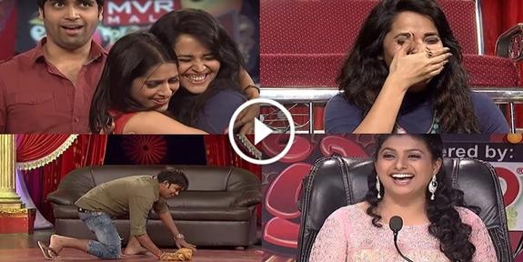 Rashmi Gautam and Anasuya at one Stage, Sudigaali Sudheer got Exttra Punches from 3 Ladies