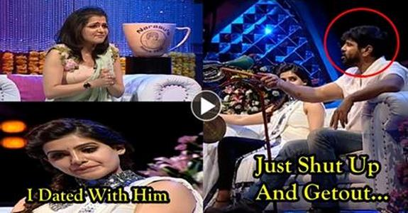 Vikram Serious Punch to Anchor DD in a Live Show. Samantha Revealing Secrets