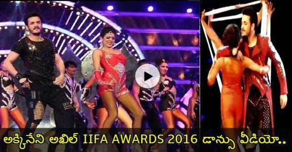 Akhil Akkineni FULL Dance Performance At IIFA Utsavam 2016