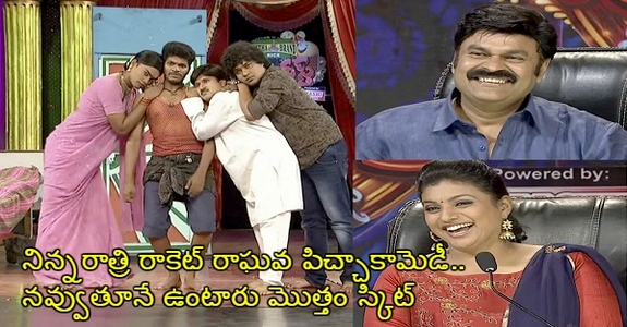 Last Night Rocket Raghava Hilarious Skit Without Dialogues For 6 Minutes Everyone Stunned