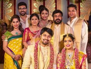 MegaStar Chiranjeevi Daughter Sreeja and Kalyan Marriage Photos