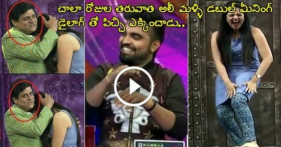 Srimukhi Ali Shocking Behavior In a Comedy Show, Hilarious Comedy After Long Time