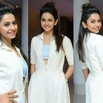 Rakul Preet Singh Latest White Jumpsuit Dress ULTRA HD Photos
