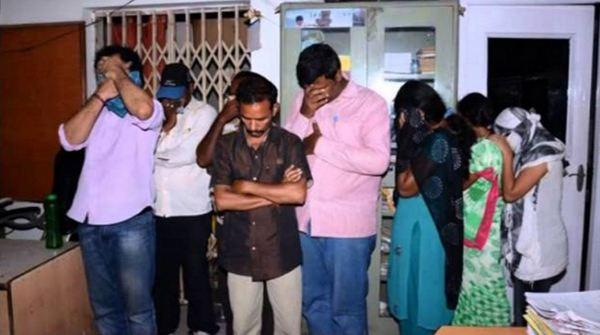 Famous Telugu TV Actress Caught as cops raid Prostitution ring
