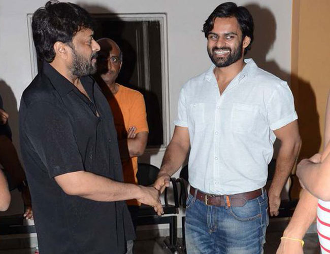 Chiranjeevi appreciates Sai Dharam Tej and Team