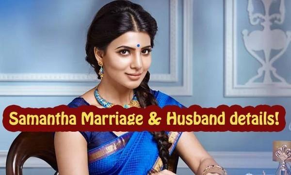 Samantha Marriage Husband details