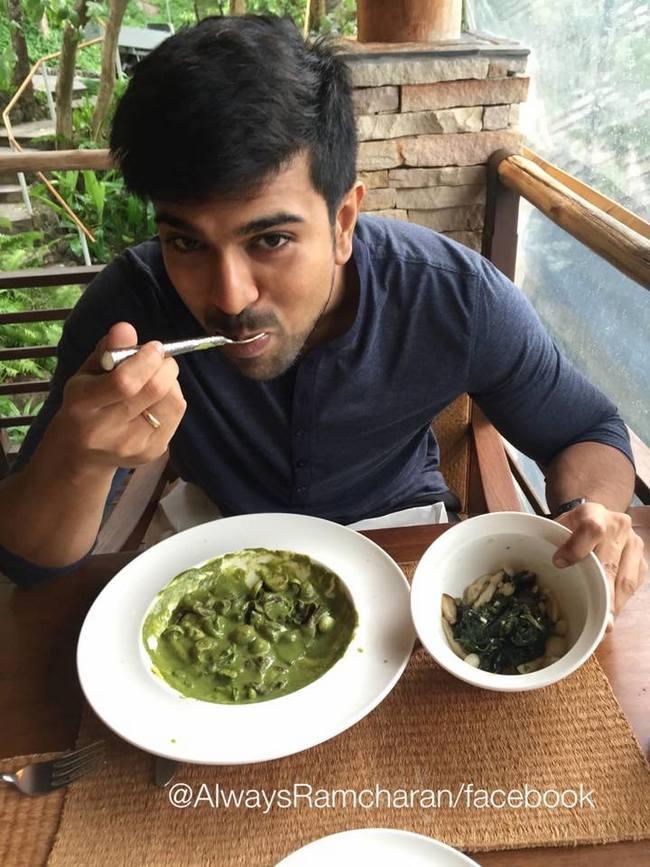 ram charan turns vegetarian for his movie