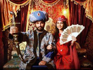 allu arjun sneha as sultan and sultana