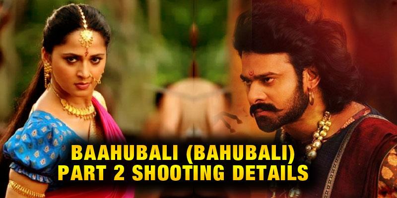 Baahubali 2 Shooting in Aluminium Factory