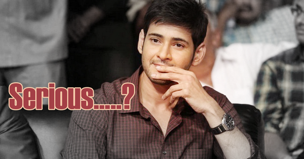 Mahesh featuring an extremely serious look in Murugadoss flick