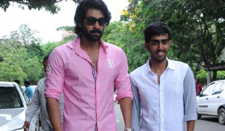 Rana's brother Abhiram debut as hero