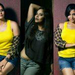 Anasuya Bharadwaj Latest Hot ULTRA HD PhotoShoot in Yellow and Black dress