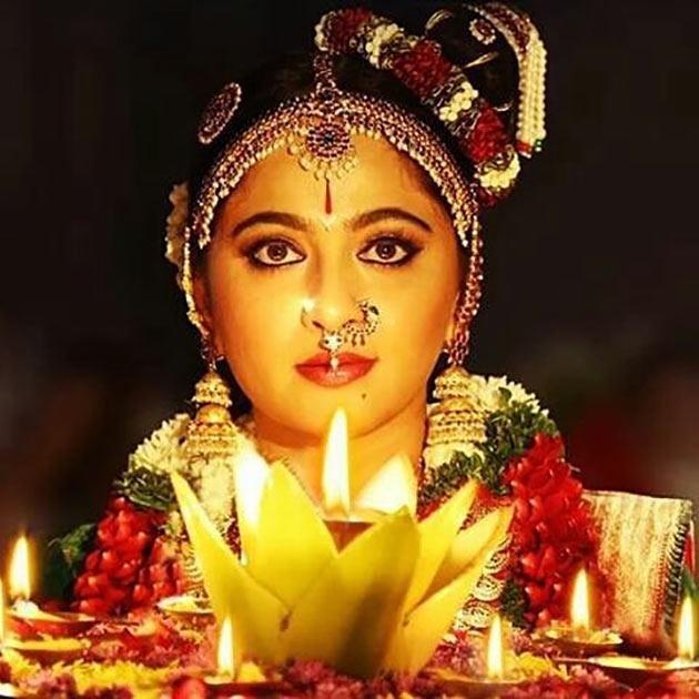 Anushka's First Look in Om Namo Venkatesaya is out
