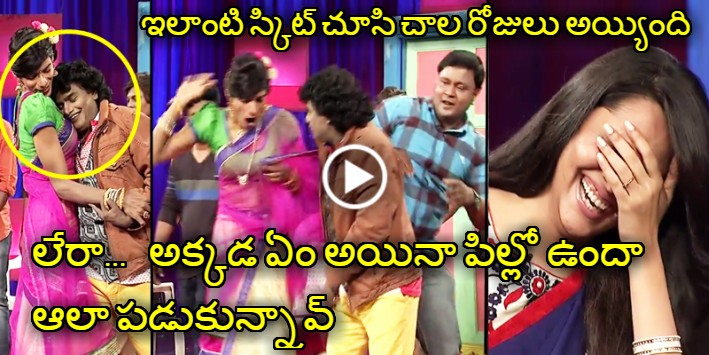 Last Night Comedian Bullet Bhaskar Skit Will Make You Dying To ROFL Laugh. After A Long Time Fantastic Skit At Jabardasth