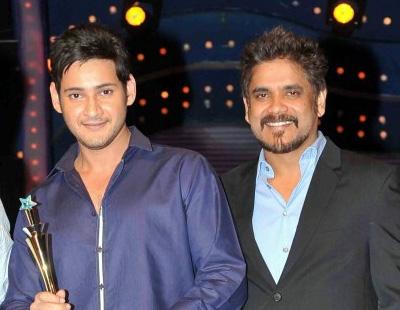 Nagarjuna's belated birthday wishes to Superstar Mahesh Babu!