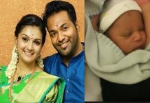 Tamil actress Saranya blessed with baby boy!