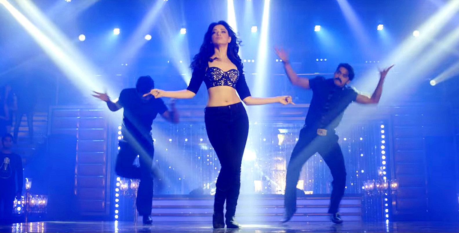Tamannaah Shook Her Leg Like Never Before For Devi Movie