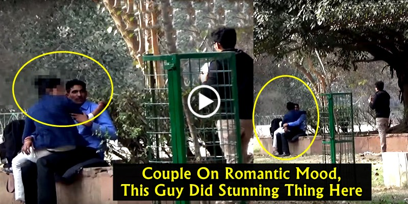 This GUY did a Stunning Thing In a Park When Couples having time