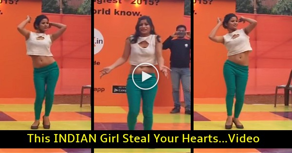 This Young Girl ENERGY At Peaks Epic Dance