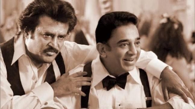 Rajinikanth congratulates Kamal Haasan