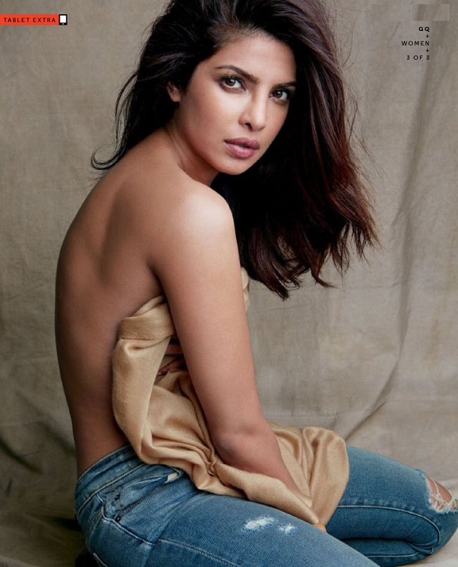 Priyanka Goes Topless For A Top Magazine Cover