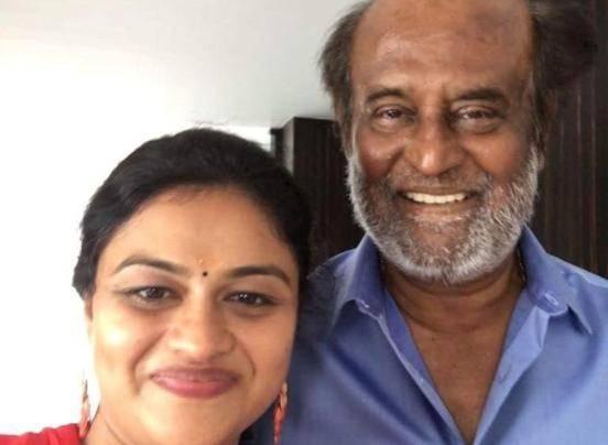 Super star RajniKanth praises a woman for saying Thalaivar's dialogue perfectly
