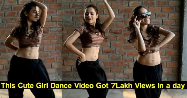 this-cute-girl-kala-chasma-dance-video-got-7lakh-views-ina-day