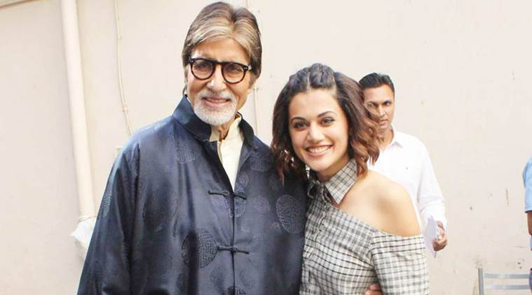 Taapsee's Effort to Act Next to Amitabh