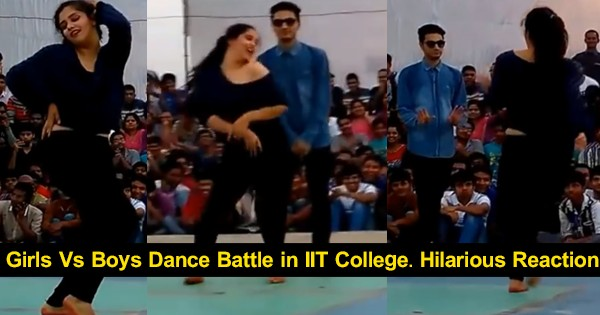 girls-vs-boys-dance-battle-in-iit-college-especially-see-the-boy-hilarious-reaction-to-the-girl