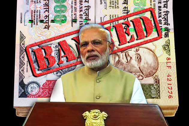 Rs. 500 and Rs. 1000 Currency Notes Abolished