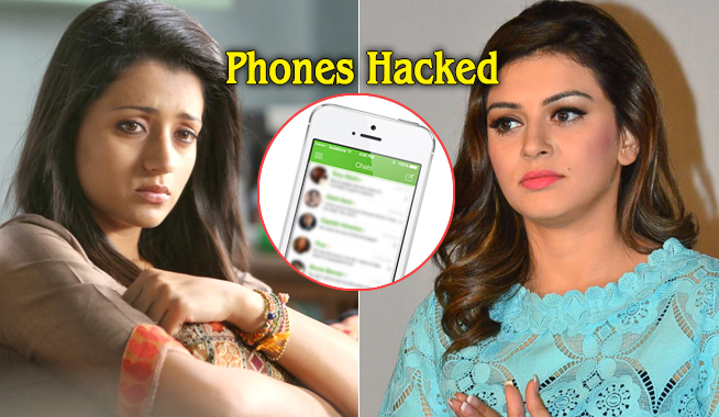 Trisha and Hansika Phones are Hacked and Wiped Clean