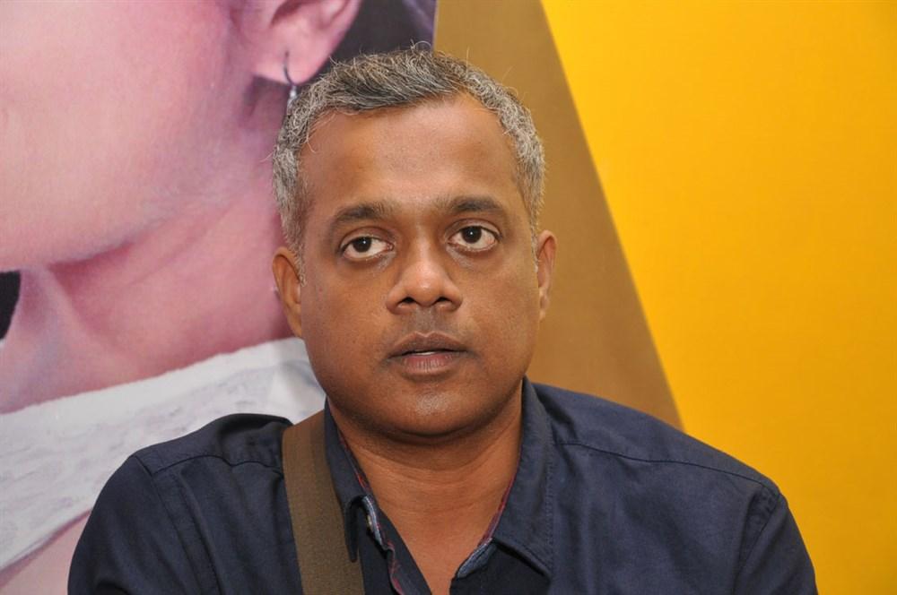 Director Gautham Menon Photos at Courier Boy Kalyan Press Meet
