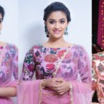 Actress Keerthy Suresh HD Photos at Zee Apsara Awards 2017 Images Gallery