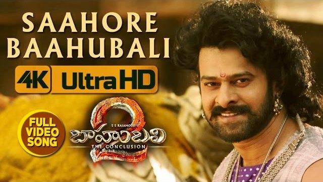 Saahore Baahubali Full Video Song HD 1080P Video - Baahubali