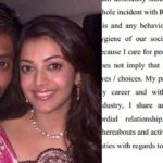 Actress Kajal Agarwal's reaction on her PR Manager Ronnie's arrest