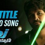 DJ Saranam Bhaje Bhaje Full Video Song HD 1080P | DJ Telugu Movie Duvvada Jagannadham Video Songs | Allu Arjun, Pooja Hegde | Devi Sri Prasad