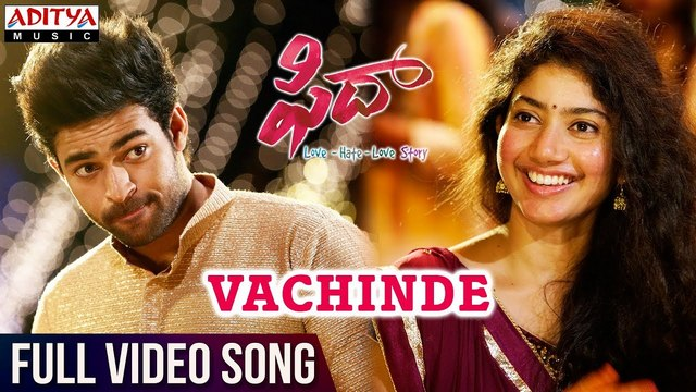 Vachinde Full Video Song HD 1080P