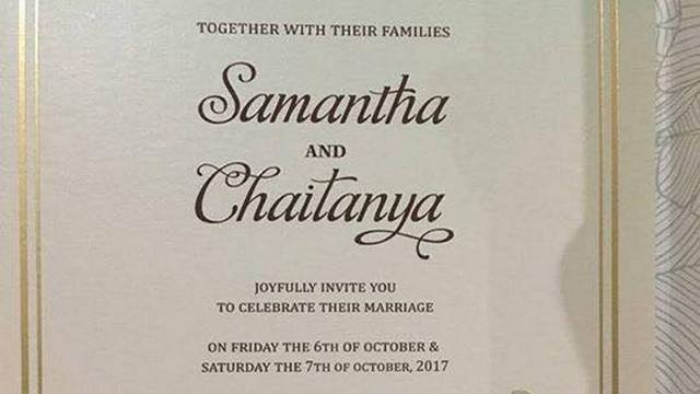 samantha prabhu and naga chaitanya marriage wedding