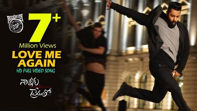 Love Me Again Full Video Song HD 1080P | Nannaku Prematho Telugu Movie Nannaku  Prematho Video Songs | Jr NTR, Rakul Preet Singh | Devi Sri Prasad |  25CineFrames